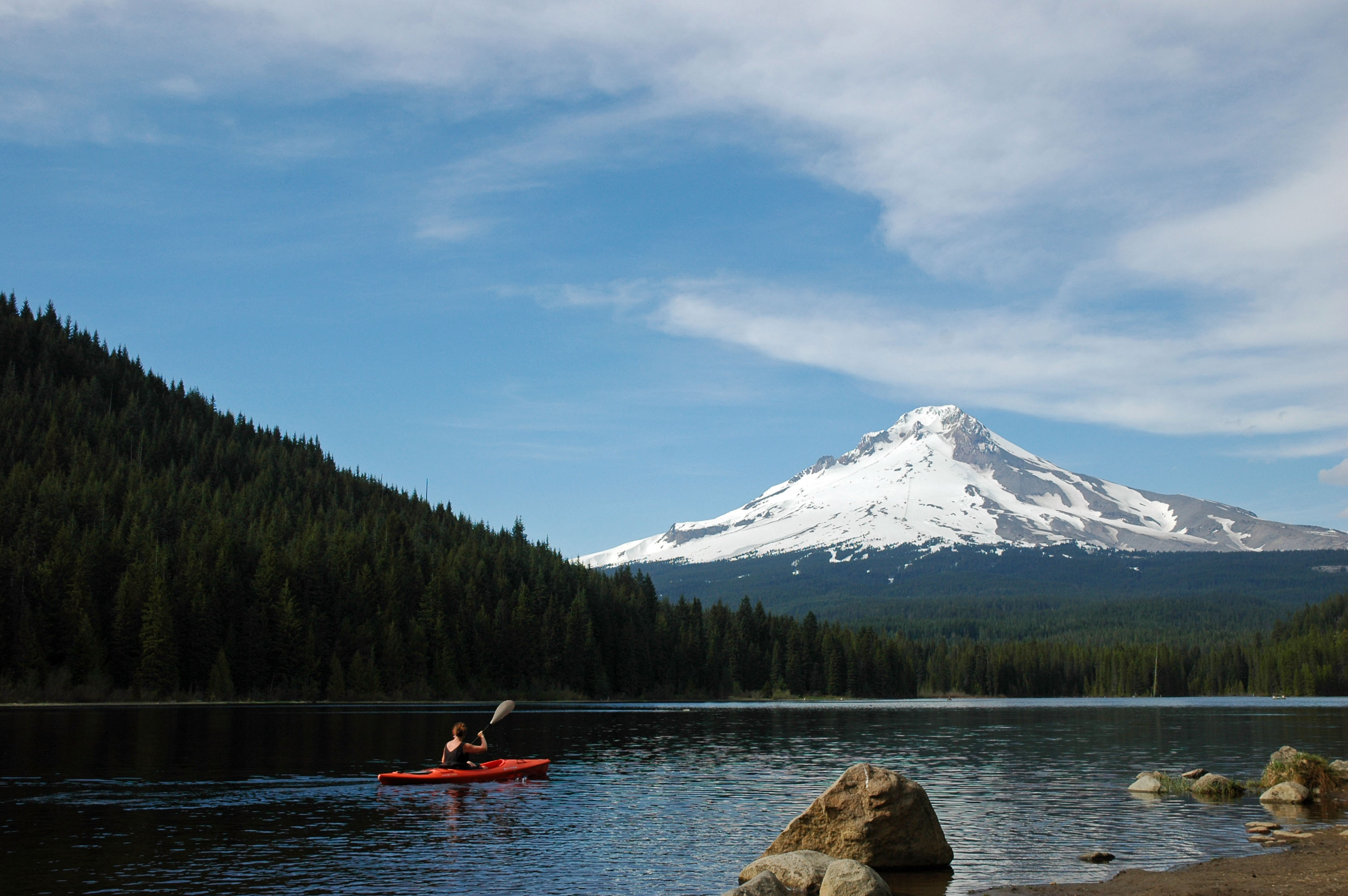 Lakes On Mount Hood