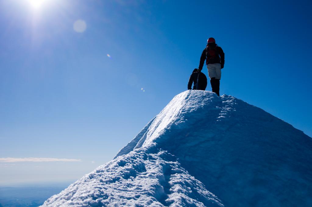 Mt Hood Climbers Guide