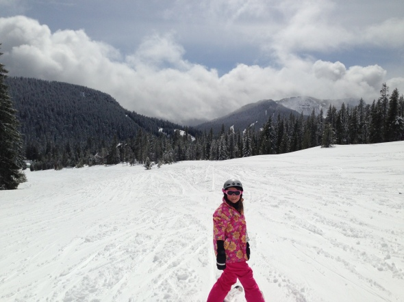 M first ski
