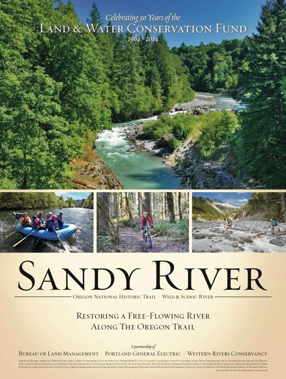 WRC Sandy River poster